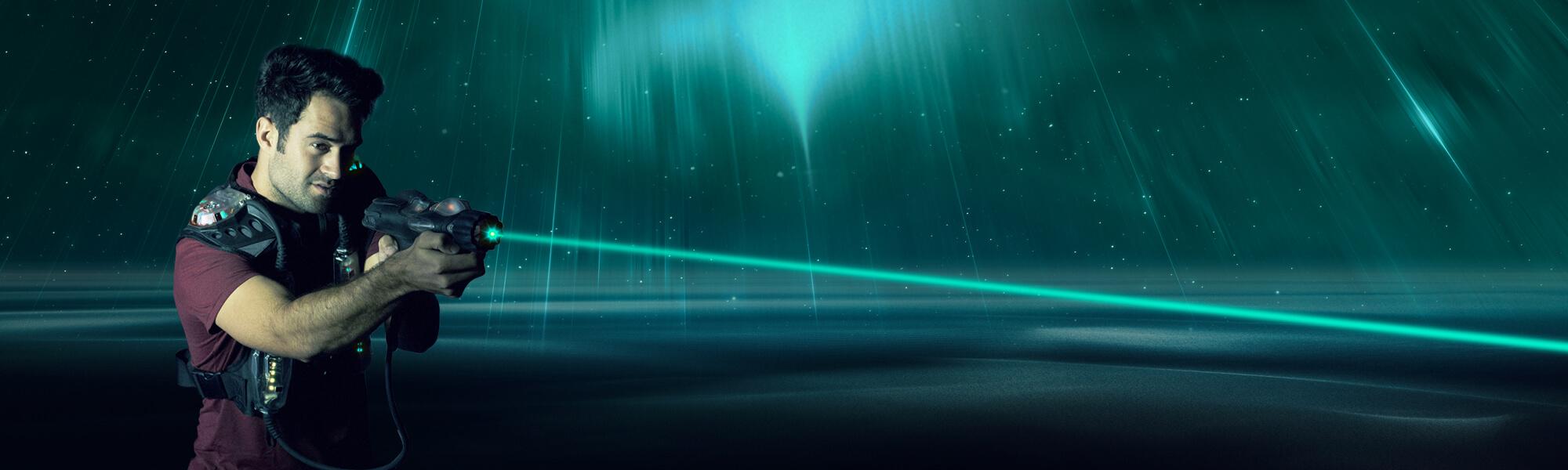 Super Laser Tag Laval Mascouche | Jeux d'aventure | Laser Action ER26